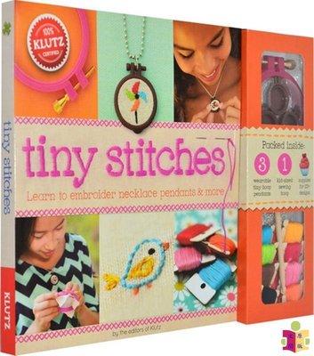 [文閲原版]小小針線活 英文原版 Tiny Stitches 手工制作 活動書 DIY小飾品 10歲及以上