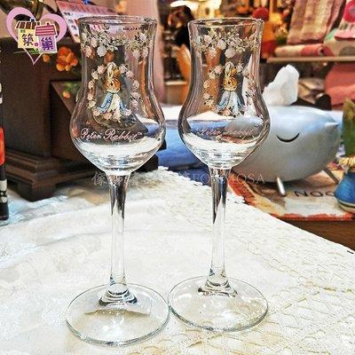 *《正版授權》95ML彼得兔玫瑰香檳品酒杯(二入)*築巢 傢飾 禮品*下標前請先詢問是否有現貨。