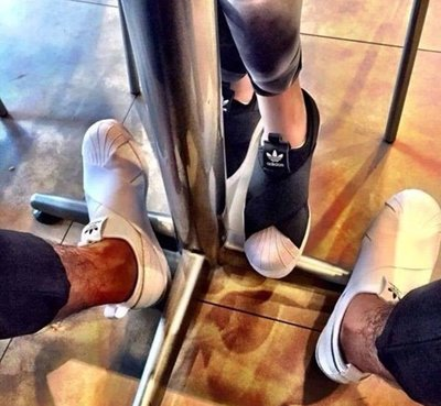 Adidas Superstar Slip On 黑白 深藍 酒紅 紅色 粉 懶人鞋 交叉 繃帶 貝殼頭 男女鞋