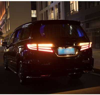 (小鳥的店)本田 奧德賽 Odyssey 15-20年 LED 尾燈 後燈 奧德賽 導光 跑馬 方向燈  燻黑