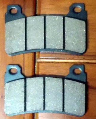 TOKICO 平字版 輻射 對四 雙插銷 剎車片 煞車皮 剎車皮 煞車片