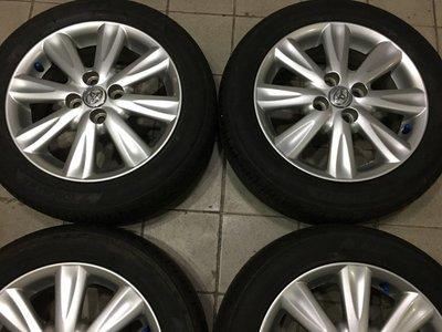 很漂亮 豐田 yaris原廠 新款 4孔100 15吋鋁圈含輪胎 VIOS TERCEL CORONA COROLLA