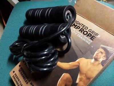 *無敵隊長*購物網~TKO Weighted Rope快速,加重柄,鋼索包PVC訓練體能跳繩V