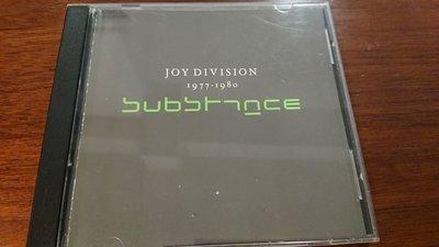 JOY DIVISION CD Substance 1977-1980超級搖滾經典天團早期精選輯絕版罕見盤1988年版無ifpi發燒錄音片況如新收藏釋出請保握