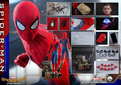 Hottoys 8月4號Homecoming Spiderman 1/4 會員單 hot toys