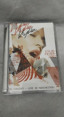 Kylie Minogue - Kylie Fever2002 (In Concert - Live In Manchester) (EU) DVD 392
