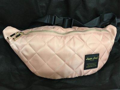 日本代購 Legate Largo腰包/戶外休閒旅行女生側背腰包 、出國旅遊、小物收納♥️全新售粉色「包6」