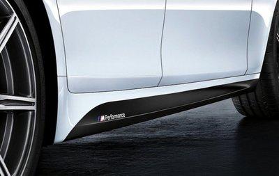 ✽顯閣商行✽BMW 德國原廠 M Performance F10/F11 LCI 側裙貼紙組 側貼