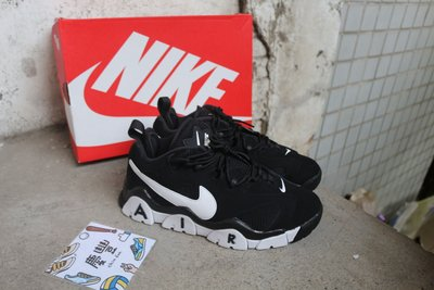 慶豐體育? NIKE AIR BARRAGE LOW nash 黑白 白色 鋸齒 大勾 男鞋CD7510-001 休閒