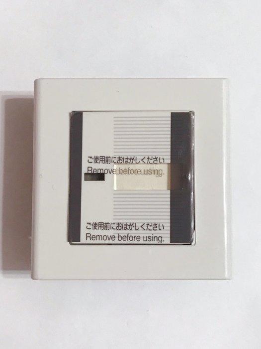 【高雄日電行】日本原裝 Panasonic 國際牌 COSMO WT5001單切 有指示燈可放名條 方形開關