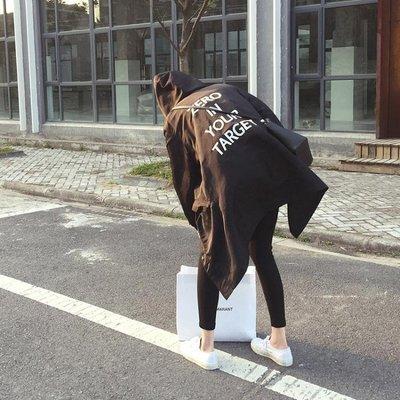 韓版2019新款春裝風衣女中長款顯瘦寬鬆薄款秋季外套學生春秋女裝
