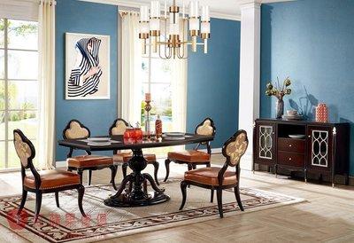[紅蘋果傢俱] 303瑞拉斯系列 餐桌  後現代風  餐椅 餐櫃 可訂製 可改色 數千坪實體 工廠直營