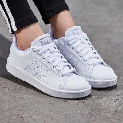 [麥修斯]ADIDAS CF ADVANTAGE CL 白色 愛迪達 復古 經典 板鞋 女款 休閒鞋 BB9609