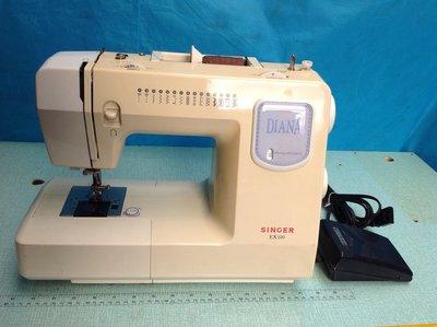 家庭用縫紉機二手 SINGER 勝家 EX100型 含半年保固 ~ 拼布 、學生、家用兩皆宜