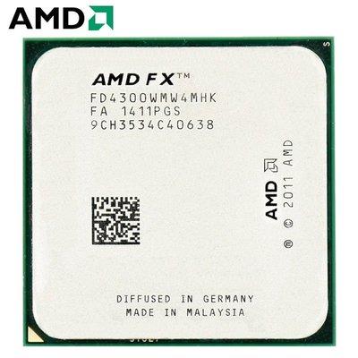 AMD FX4100 4130 4300 6100 6200 6300 6350 推土機AM3+ 六CPU小蔡學英文