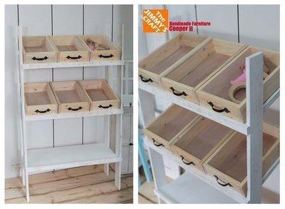 ZAKKA鄉村風木製收納櫃(矮櫃層櫃DM架目錄架木箱民宿二手家具花台花架木櫃展示桌門牌黑板IKEA多肉植物飾品櫃中島櫃檯