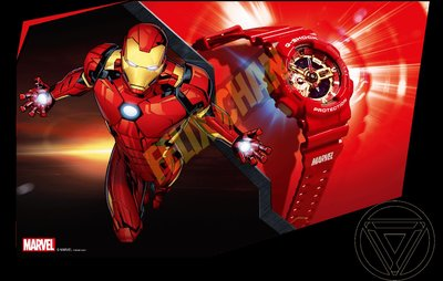 Casio G-Shock Avengers 錶 Ironman Iron Man Marvel 復仇者 聯盟 鐵甲奇俠 漫威 Endgame