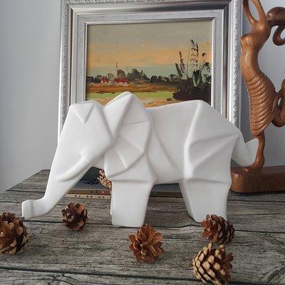 【現貨】北歐風 動物摺紙系列 折紙象(大)~~昌侑藝術CHY畫廊