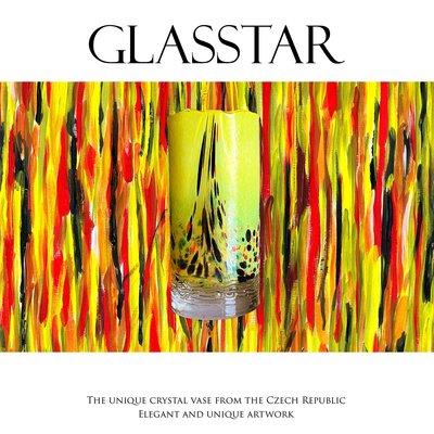 GLASSTAR 捷克手工花瓶(Y1)