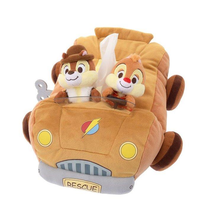 代購現貨  日本東京迪士尼商店 奇奇蒂蒂玩偶面紙盒套