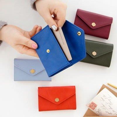 ❅PAVEE❅  韓國iconic~ Post Card Holder 獨自優雅 信封式收納卡包/名片夾