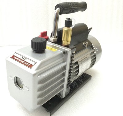 《A&F抽真空機馬達 1/2HP 》7CFM 附逆止閥 泵浦 Vacuum Pump 冷氣冷凍安調專業工具