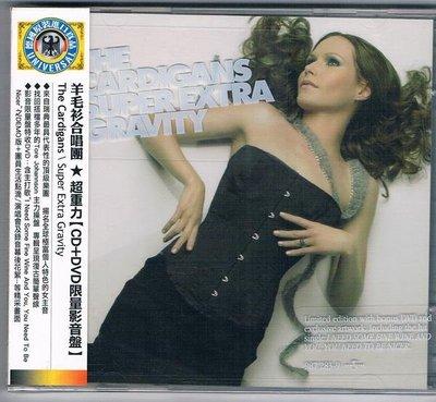 [鑫隆音樂]西洋CD-羊毛衫合唱團Cardigans:超重力(CD+DVD) 全新/免競標