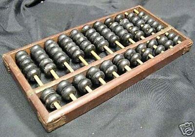 台灣古早掌櫃的木製大算盤1