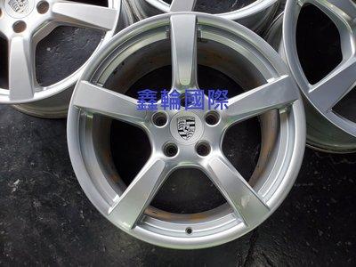19吋Porsche 718原廠鋁圈Boxster.Cayman.Cayenne.955.958.Turbo.996輕量
