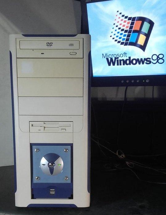【窮人電腦】跑Windows 98系統!技嘉P3遊戲主機出清!雙北桃園可親送!外縣可寄!