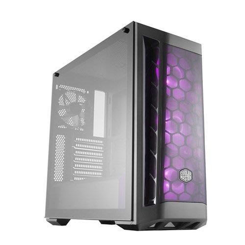 *硬派精璽* CoolerMaster MasterBox MB511 RGB鋼化玻璃機殼000009000716