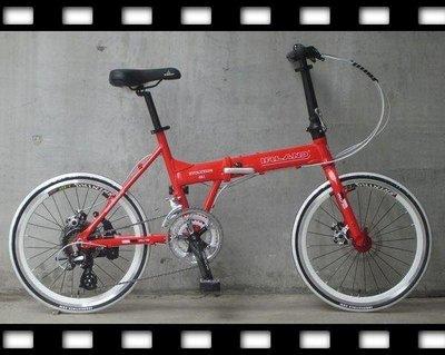 【愛爾蘭自行車IRLAND】~20吋24速451碟剎shimano evo 摺疊車~盛恩單車~