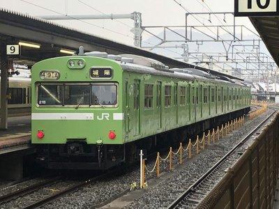 [玩具共和國] TOMIX 98423 JR 103系通勤電車(JR西日本仕様・黒サッシ・ウグイス)増結セット(2両)