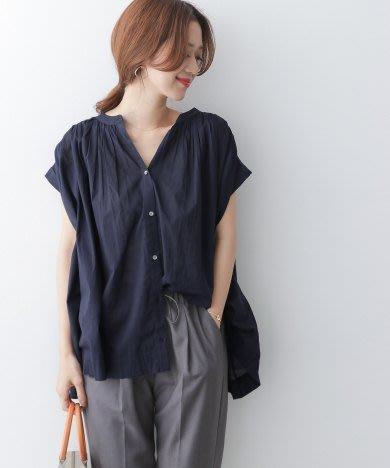 1600元含郵資賠售轉賣購自 旺來 in jp 7月013 DOORS深藍色 巴里紗棉質罩衫