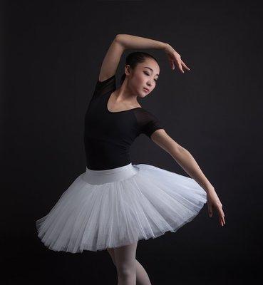艾蜜莉舞蹈用品*芭蕾用品*芭蕾表演蓬蓬裙(內接三角安全褲)$600元