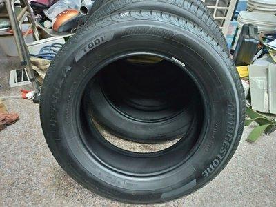 215 60 16 普利司通輪胎 T001 215 60 R16 二手 中古 落地 胎 輪胎 一輪1500元