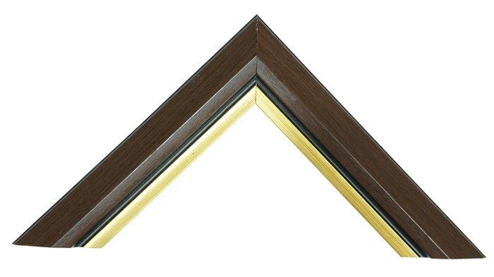 【松風閣畫廊 裝框/裱框/裱褙】 K153咖啡 木框訂製 拼圖框/證書框/圖畫框/海報框/鏡框