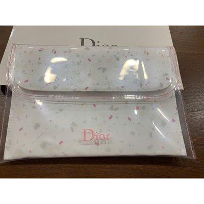 Dior正品 透明包 化妝包 手拿包 萬用包