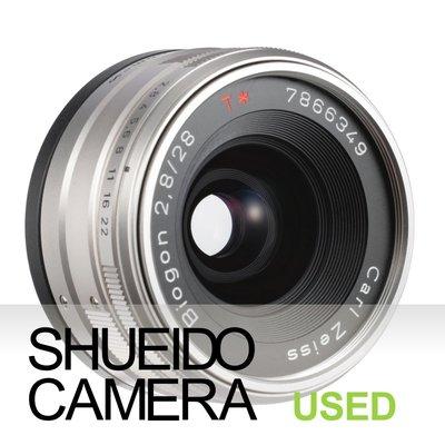 集英堂写真機【3個月保固】極上品 CONTAX G ZEISS BIOGON T* 28mm F2.8 鏡頭 17889