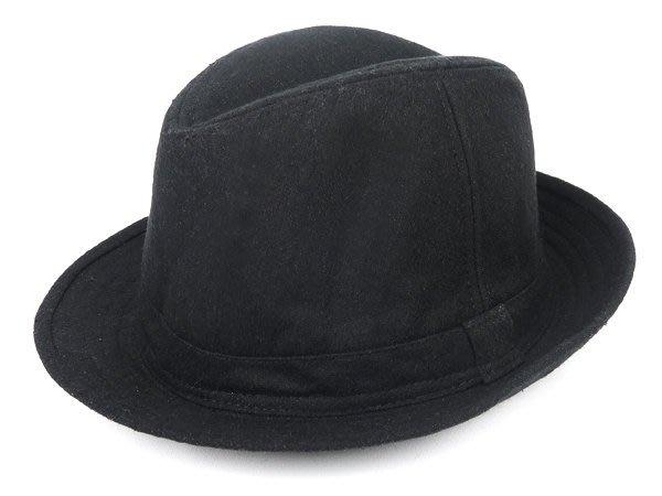 表演團體限定/ 帥氣流行羊毛風格☆ 優質造型紳士帽/爵士帽/歡迎團購☆黑色/直購價