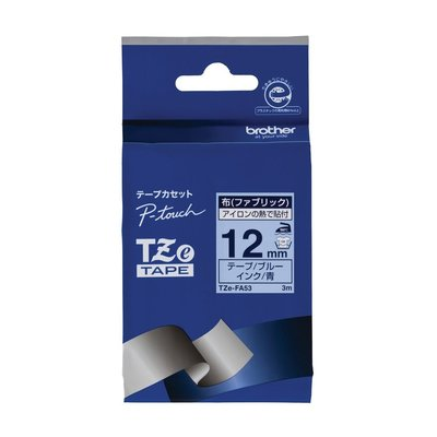 【東京速購】 Brother TZe-FA63 TZe-FA53 TZe-FAE3 燙印布質 標籤帶