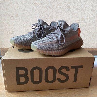 Adidas Yeezy Boost 350 V2  EG7492 灰橘 歐洲限定(二手)❤️❤️