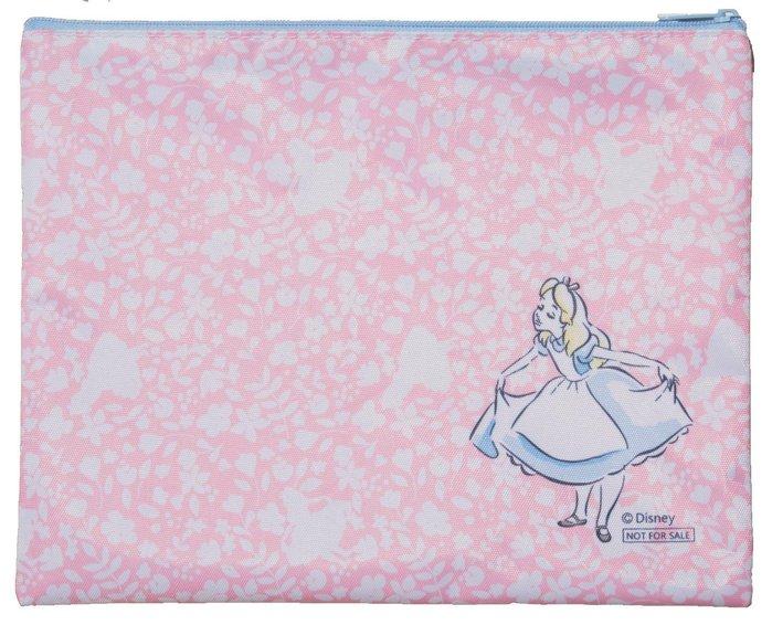 ☆Juicy☆日本雜誌附贈 迪士尼 愛麗絲夢遊仙境 alice 尿布包 衛生棉 收納包 收納袋 小物包 2668