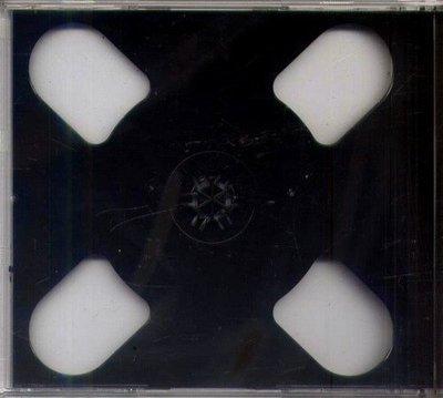 黑色2CD空盒---CD199