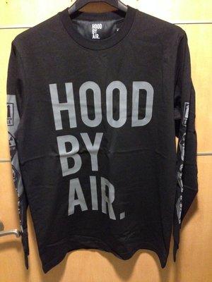 HBA Hood By Air Classic Long Sleeve T-shirt