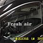 比德堡崁入式晴雨窗嵌入式晴雨窗 凌志LEXUS LM  2019年起專用賣場有多種車款(全車四片價)