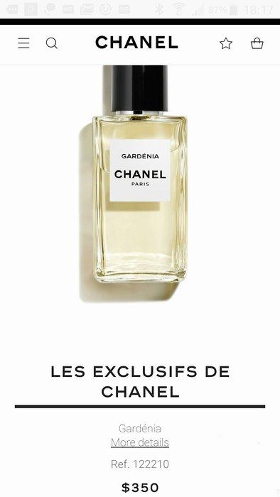 *旺角名店* ㊣ Chanel 香奈兒 精品香水 Les Exclusifs - GARDENIA梔子花 200ml