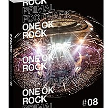 【代購】ONE OK ROCK PRIMAL FOOTMARK 2019