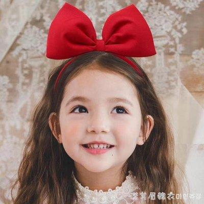 Fructose兒童發箍白雪公主頭箍發卡圣誕節女童蝴蝶結甜美頭發飾 免運