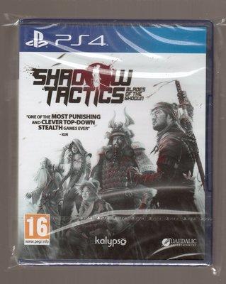 全新PS4原版片 簡體中文 暗影戰略 將軍之刃